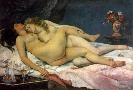 Le sommeil (1866) - G. Courbet