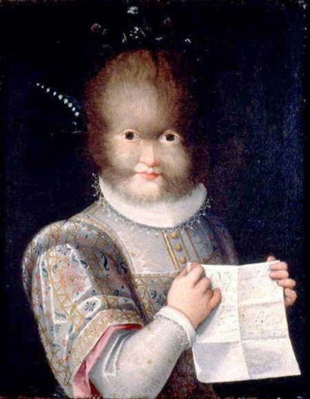 Antonietta González, Lavinia Fontana, 1595