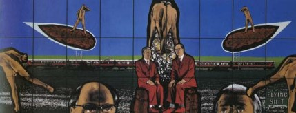 Gilbert and George - Flying Shit 1994