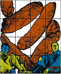 Gilbert and George - Shitted 1983