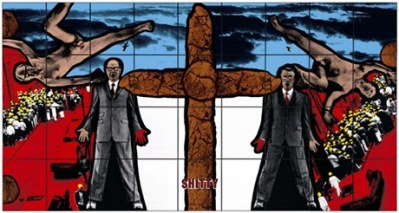Gilbert & George 1994_SHITTY_from Shitty Naked Human World